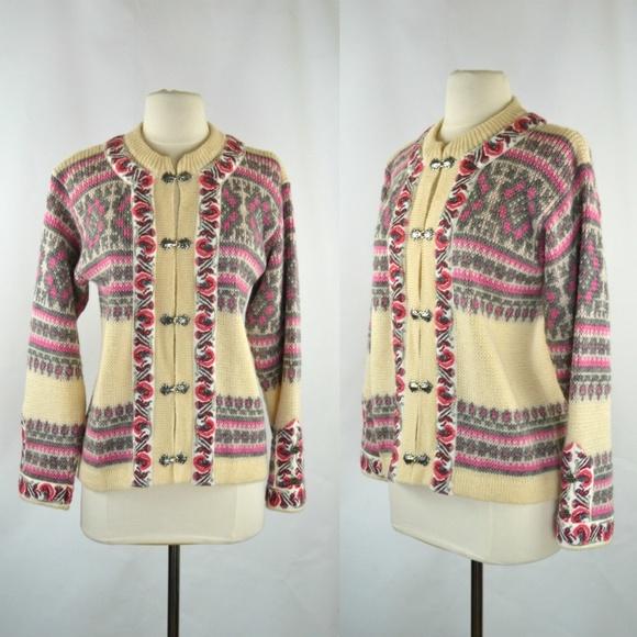 Nordstrikk Sweaters - Vintage New Wool Cardigan Sweater by Nordstrikk